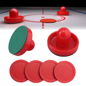 Air Hockey Puck and Pusher Set