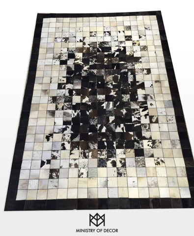 Ministry of décor 100% natural cowhide carpets ( Style 1 ) - CentrumLeisure