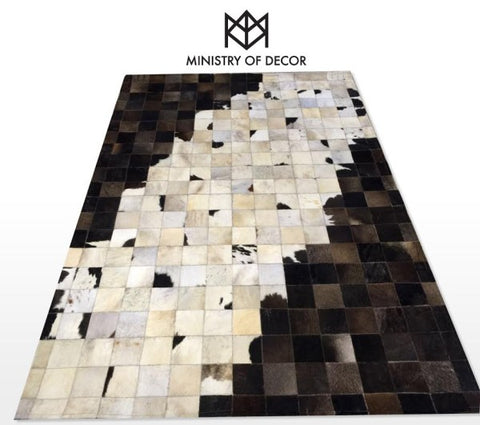 Ministry of décor 100% natural cowhide carpets ( Style 3 ) - CentrumLeisure