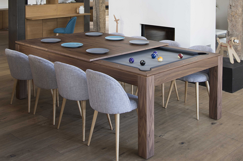 Fusion Dining Pool Table (Wood Line) - CentrumLeisure