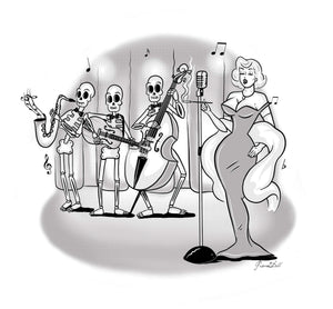 Old Time Jazz (print)0