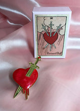 The Love Witch Brooch (w/ pink tarot box)