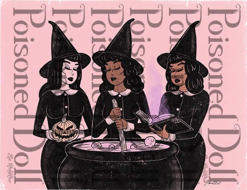Witches Unite (art print)