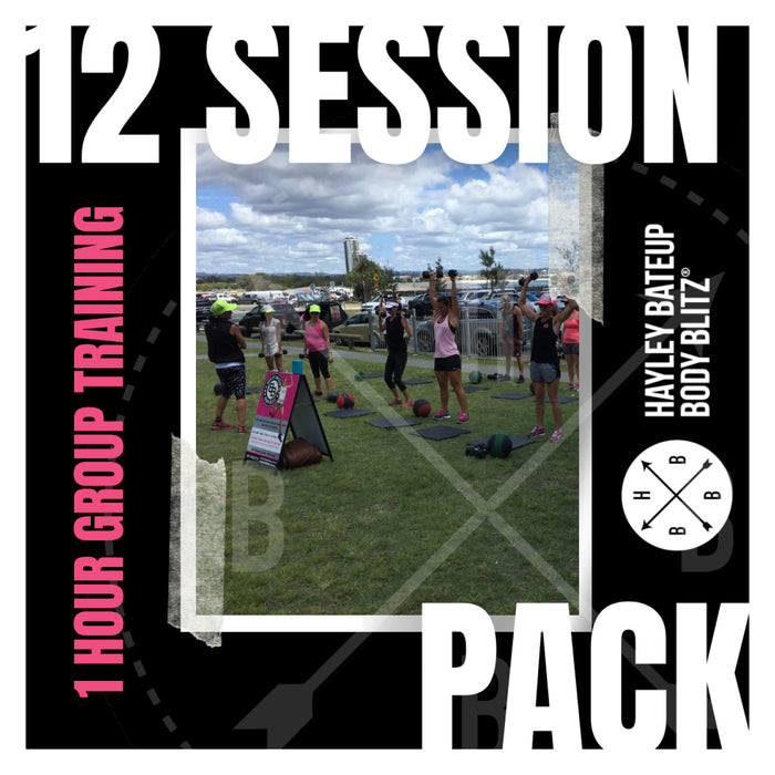 12 Session Pack
