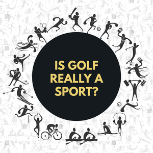 Is golf really a sport or is it just a pastime for old people?