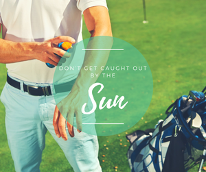 Skin protection on the golf course - protect yourself from  skin cancer with Golfglam's visors
