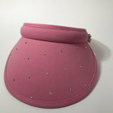 Ladies' Golf Visor with Swarovski and Beads - Golfglam