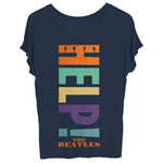 The Beatles Help! - Youth Navy T-Shirt
