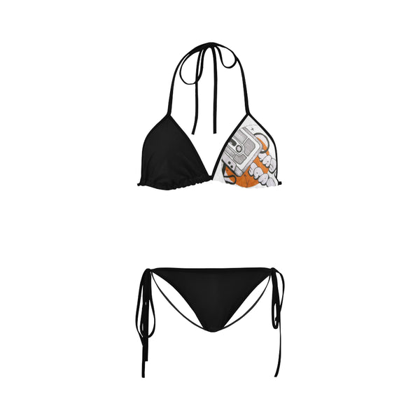 Beat Tape Bikini Swimsuit
