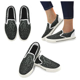 drops white Slip-on Canvas Shoes for Kid
