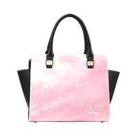 Unhappy Bunny Pink Classic Shoulder Handbag (Model 1653)