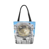 Astronaut graffitti tote bag