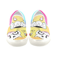 BrainZ colours Slip-on Canvas Shoes for Kid