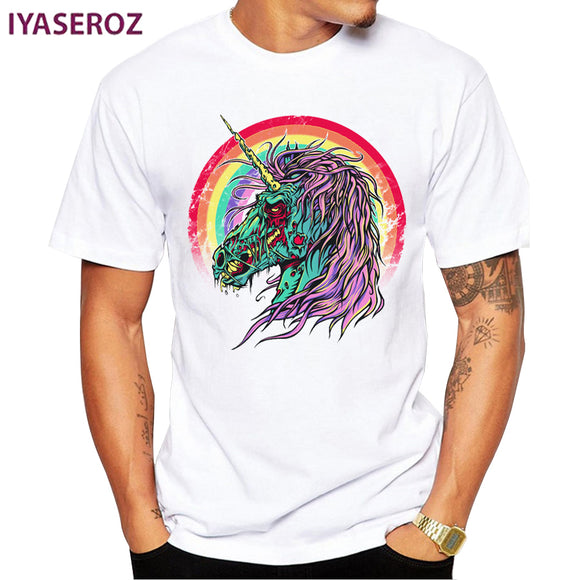Zombie Unicorn T Shirt