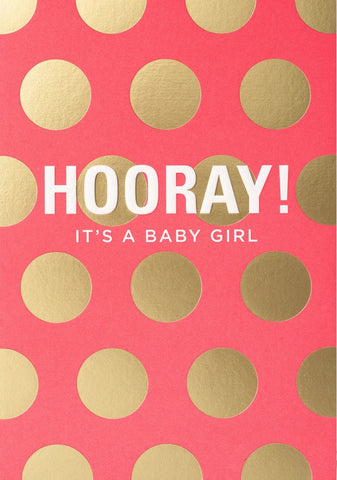 HOORAY ITS A GIRL