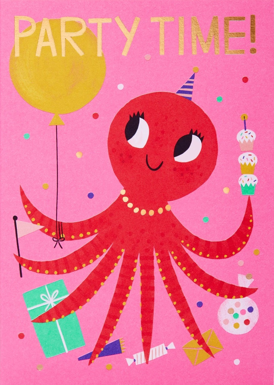 PARTY TIME OCTOPUS
