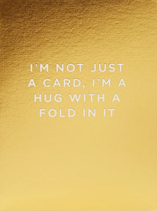 I AM NOT JUST A CARD