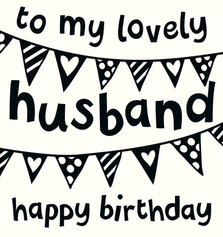 BIRTHDAY HUSBAND