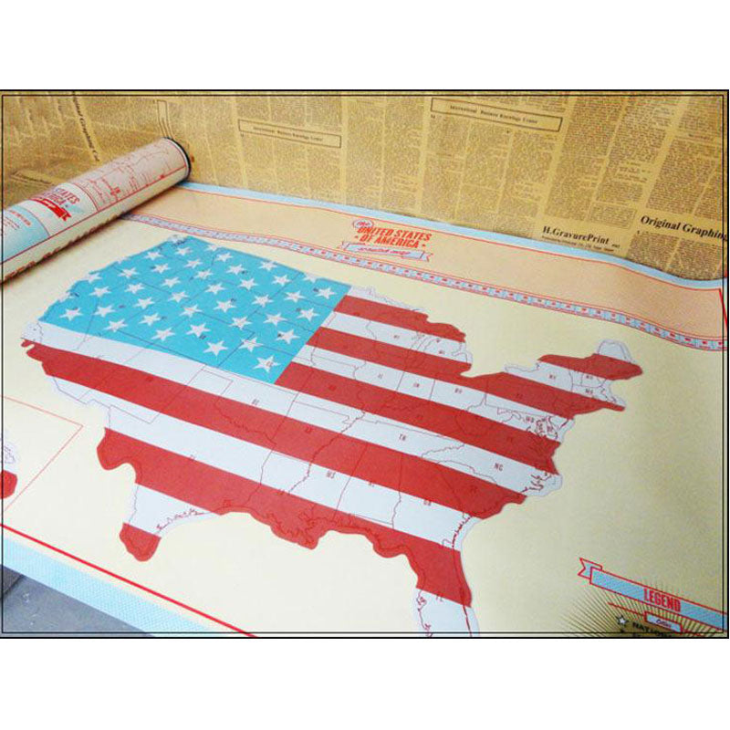Usa Travellers Scratch Map 50 Off Not In Any Stores - Us-scratch-map