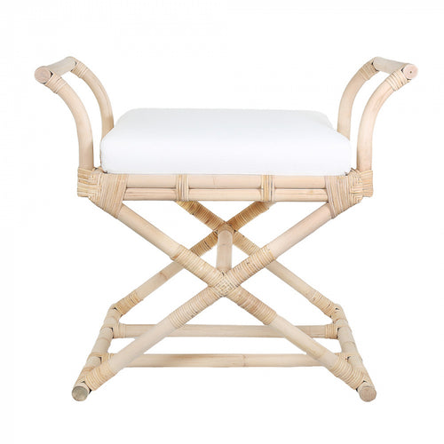 Bahamas Crossed Leg Stool
