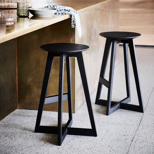 Soho Bar Stool - Black