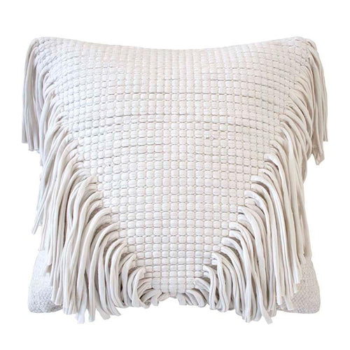Jata Cushion - Ivory