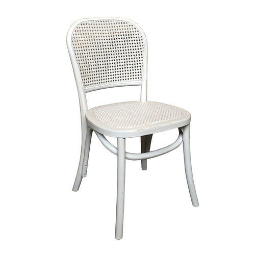 Bahamas Cane Chair - White