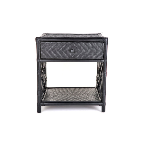 Westcliff 1 Drawer Side Table - Black