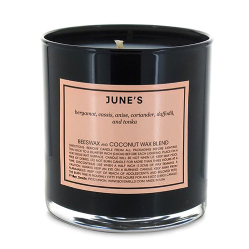 June's | Boy Smells Candle