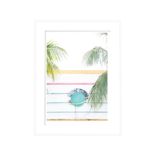 Miami Lost Weekend Neon Print