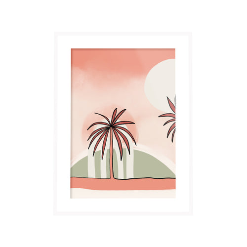 Miami Sunset Print