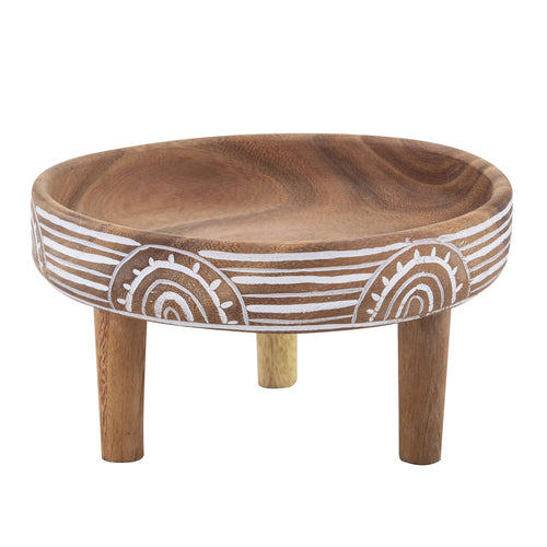 Marula Footed Bowl