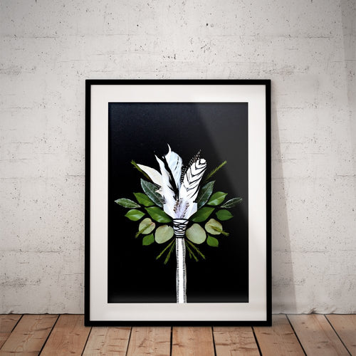 Botanical Arrow Print