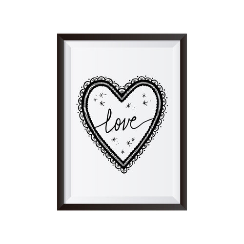 Magic Love Print