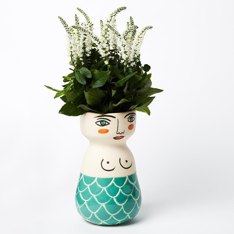 Madison Mermaid Vase