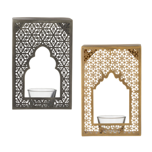 Temple Wall Candle Holder