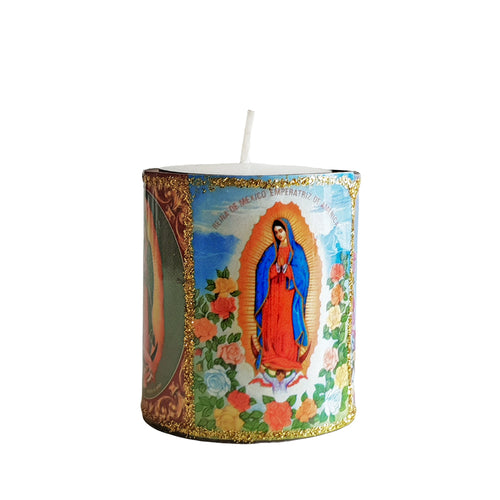 Altar Mini Candle - Guadalupe