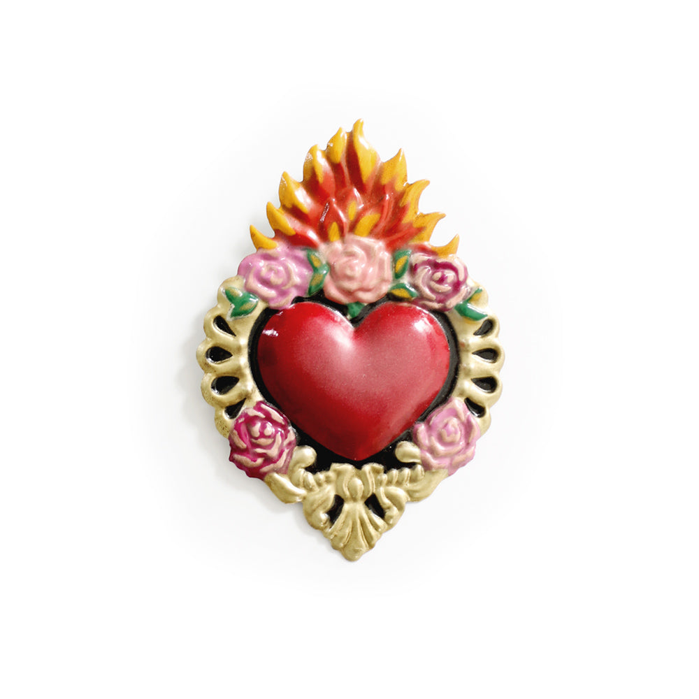 Divine Love Mexican Heart