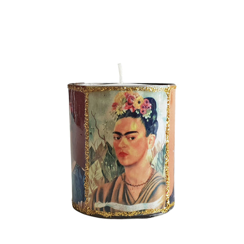 Altar Mini Candle - Frida Kahlo