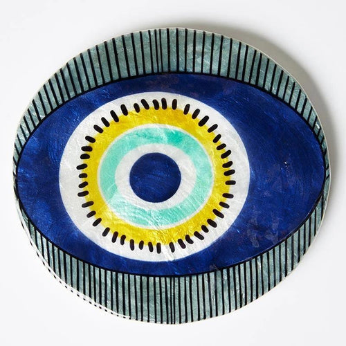 Nazar Eye Blue Wall Tile