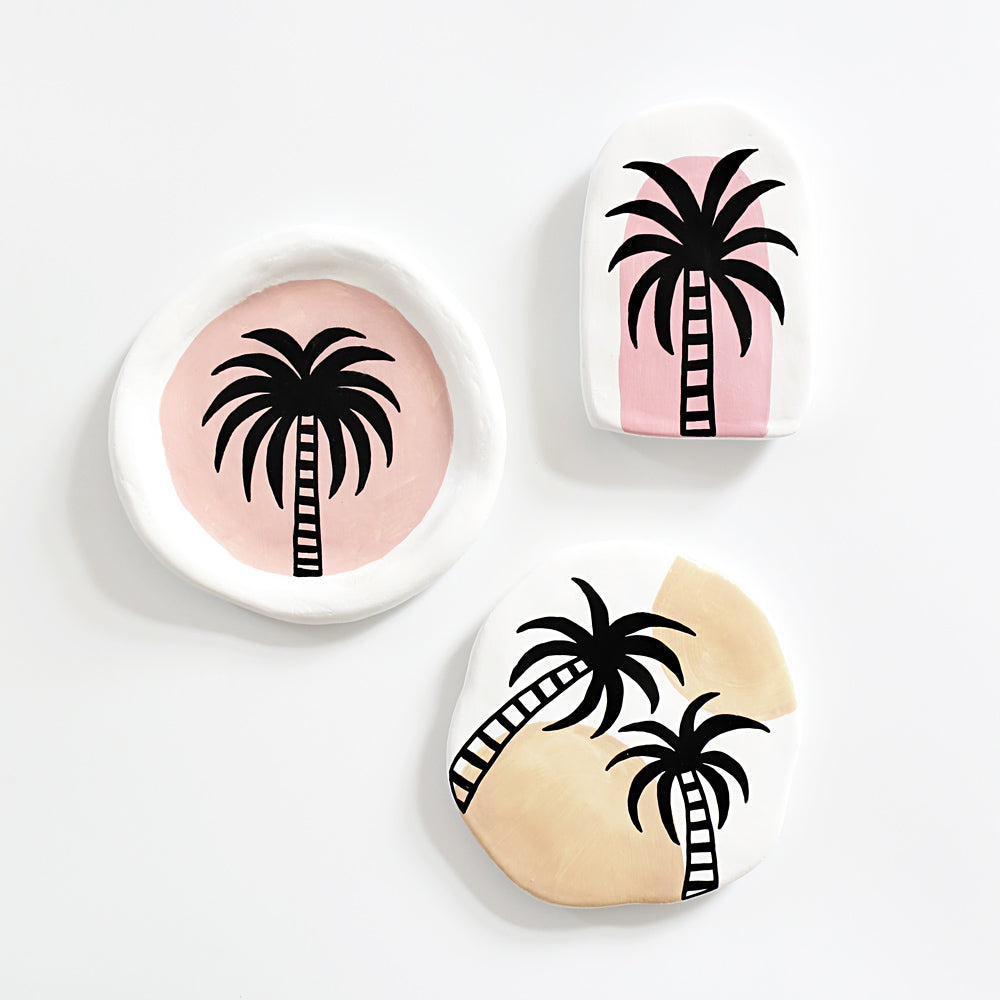 Palm Springs Plate - Small