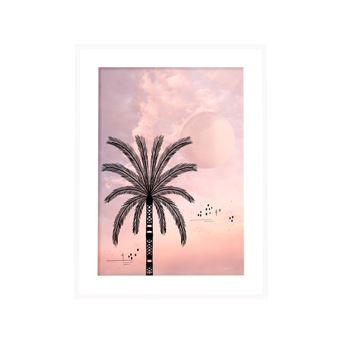 Palmetto Sunset Print