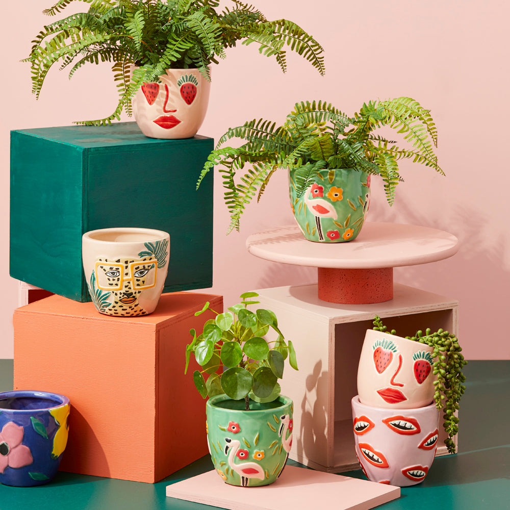 Flamingo Planter