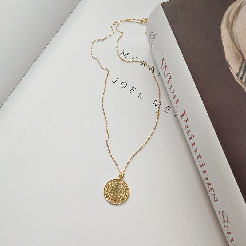 Vitus Coin 925-SS Necklace