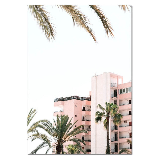 Miami Bliss Canvas Art Print
