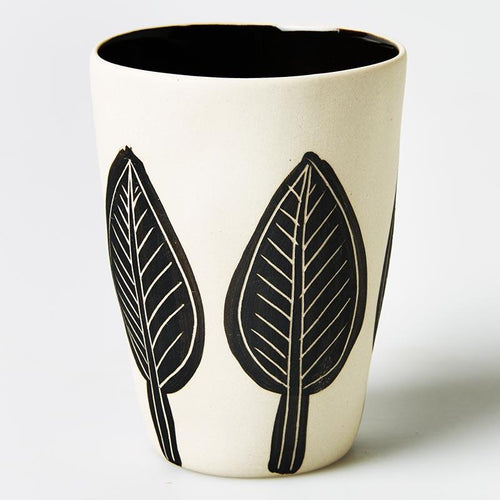 Leaf Beaker Black