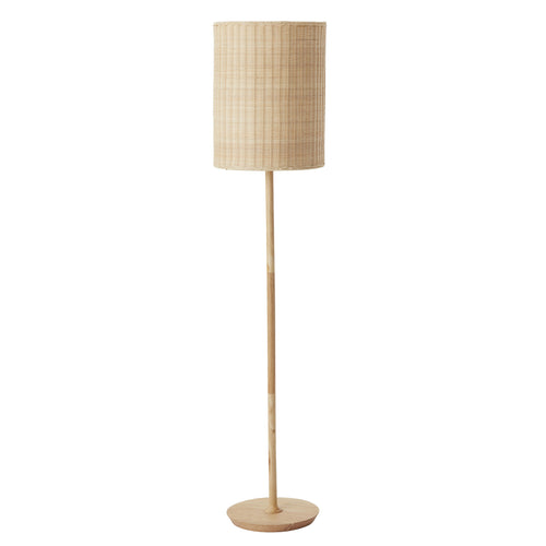 Albany Rattan Floor Lamp - Natural