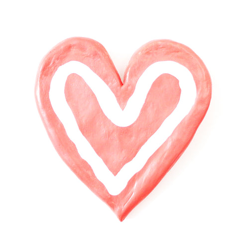 True Love Coral Heart