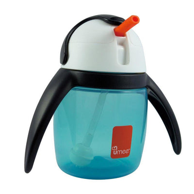 Penguin Cup 240ml with Ball System (Blue)