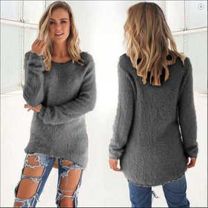 Ladies Sweater Coat Long Sleeve 2018
